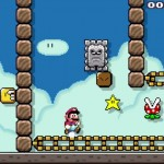 Nivel de Super Mario Maker diseñado por Facebook