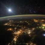 """""""Espectro rojo"""" sobre México captado por la NASA"""