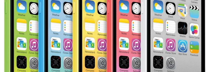 Podría descontinuarse el Iphone 5c en septiembre
