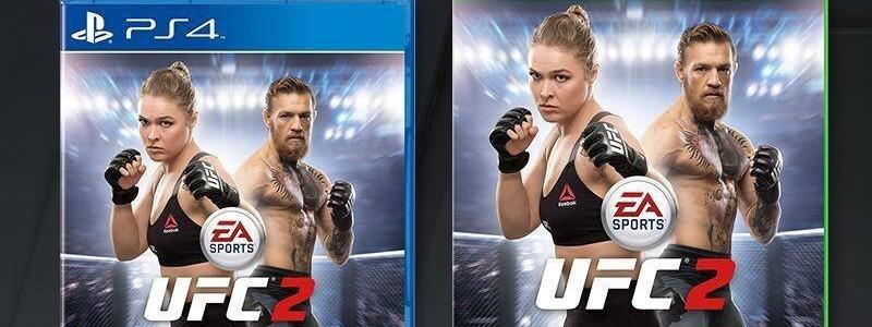 Conor McGregor acompañará a Ronda Rousey en la portada de EA Sports UFC 2