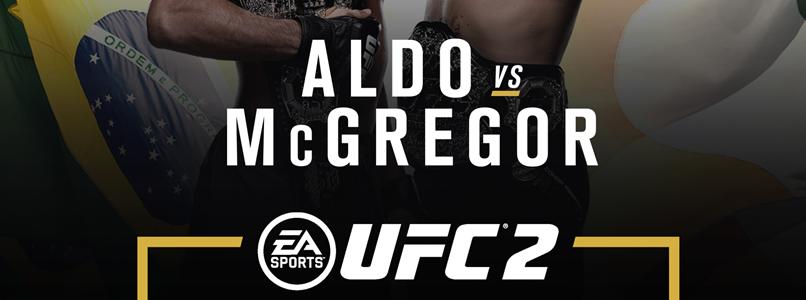 """""""Fight for the Cover"""" José Aldo y Conor McGregor pelearán por la portada de UFC"""