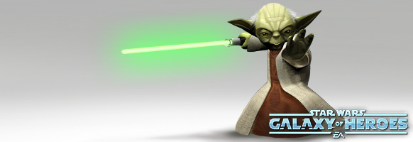Yoda Banner for EA dot com