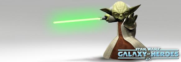 Desbloquea al Maestro Yoda en Star Wars: Galaxy of Heroes