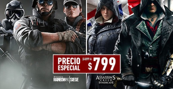 Assassin's Creed Syndicate y Tom Clancy's Rainbow Six Siege con descuento especial