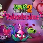 Plants vs. Zombies 2 se vuelve romántico con el evento Valenbrainz