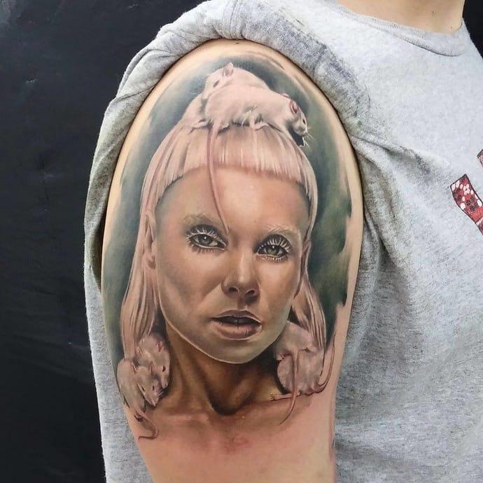 Killer tatuaje por Ubi.