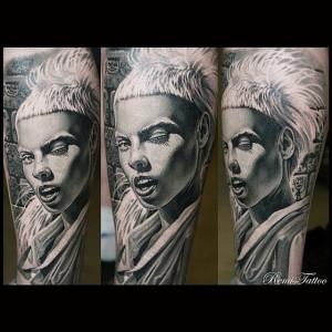 #portrait #blackandgrey #Remis