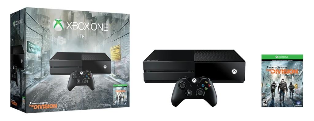 XboxOne_1TBConsole_TomClancyTheDivision_LATAM_Groupshot_RGB